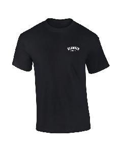 Drunken Masters Stick Logo T-Shirt schwarz