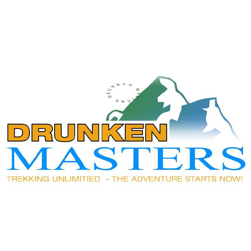 Drunken Masters Trekking T-Shirt Weiss