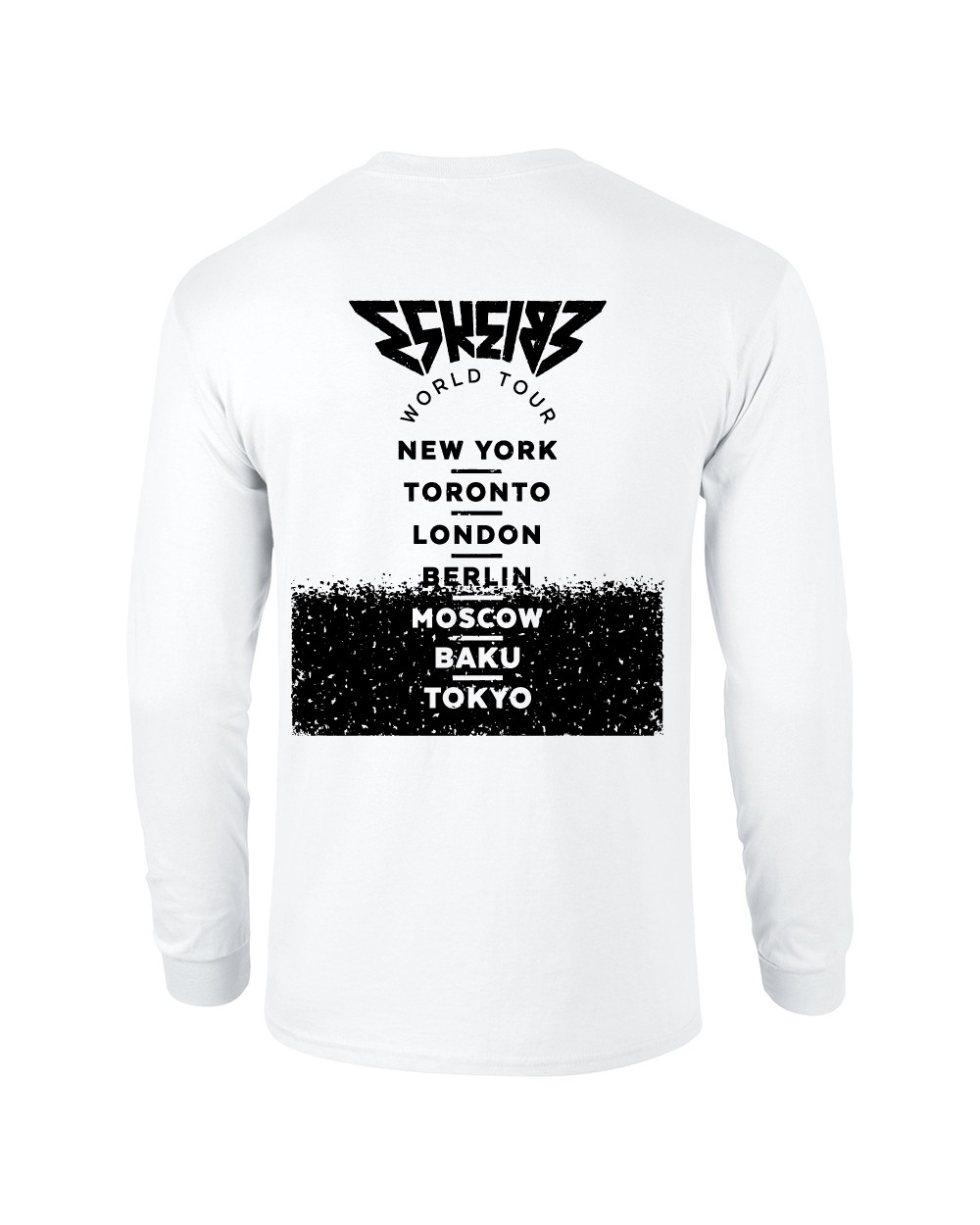 Eskei83 World Tour Longsleeve Longsleeve, weiss