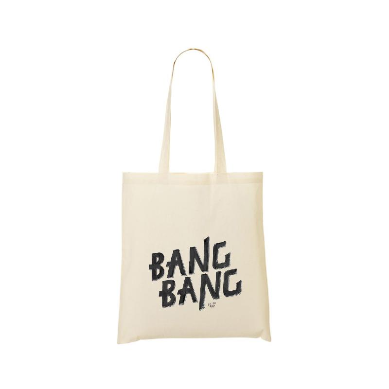 Fil Bo Riva Bang Bang Cotton Bag, nature