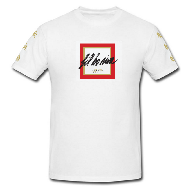 Fil Bo Riva Logo T-Shirt Weiss