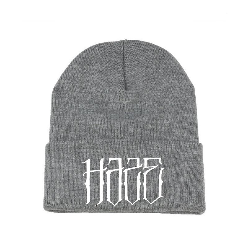 Haze Logo Beanie heather grey