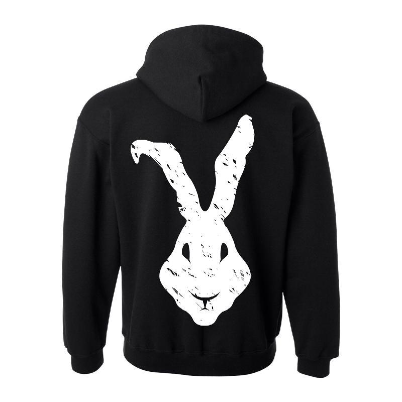Haze Rabbit Hoodie schwarz