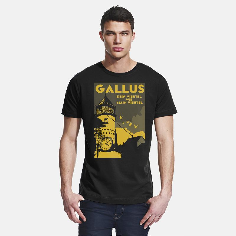 Journal Frankfurt Gallus T-Shirt, schwarz