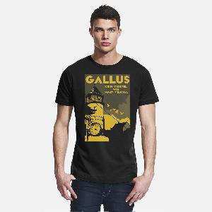Journal Frankfurt Gallus T-Shirt schwarz