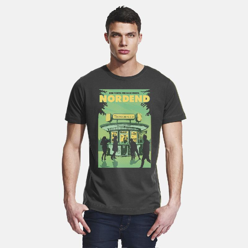 Journal Frankfurt Nordend T-Shirt, charcoal
