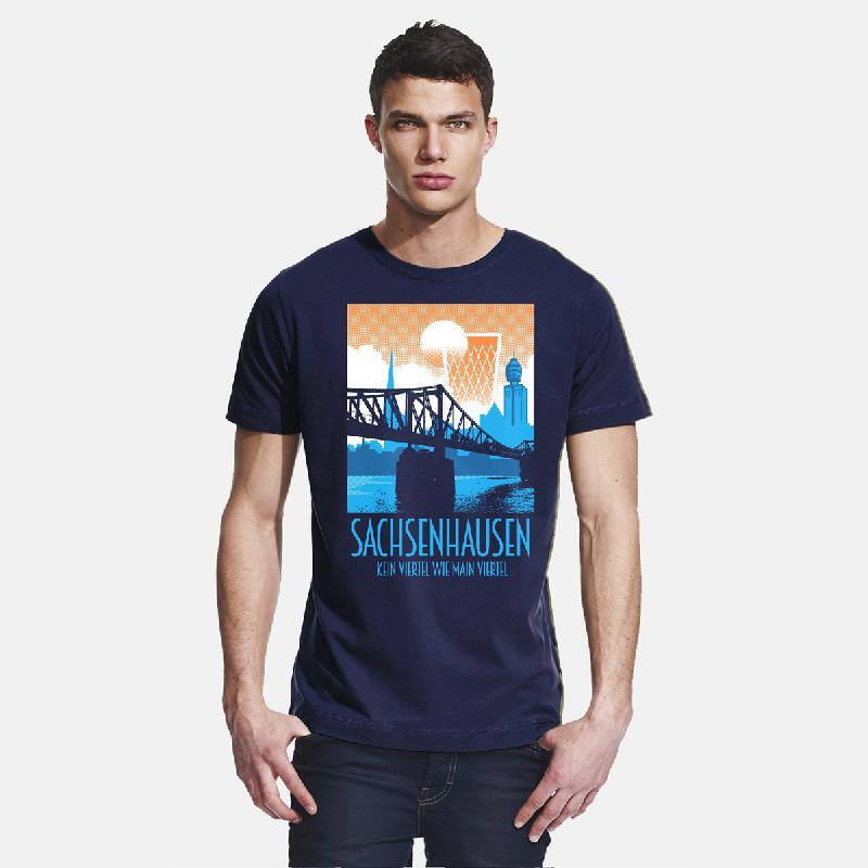 Journal Frankfurt Sachsenhausen T-Shirt navy