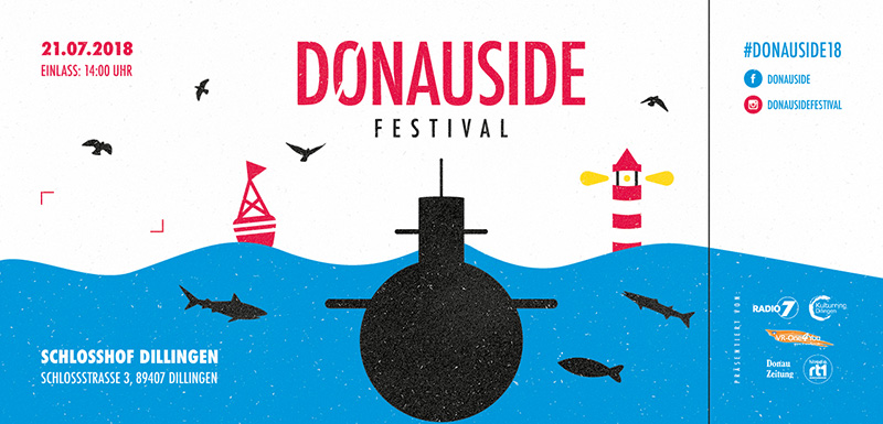 Killerpilze 21.07.2018 Donauside Festival Hard ticket incl. presale