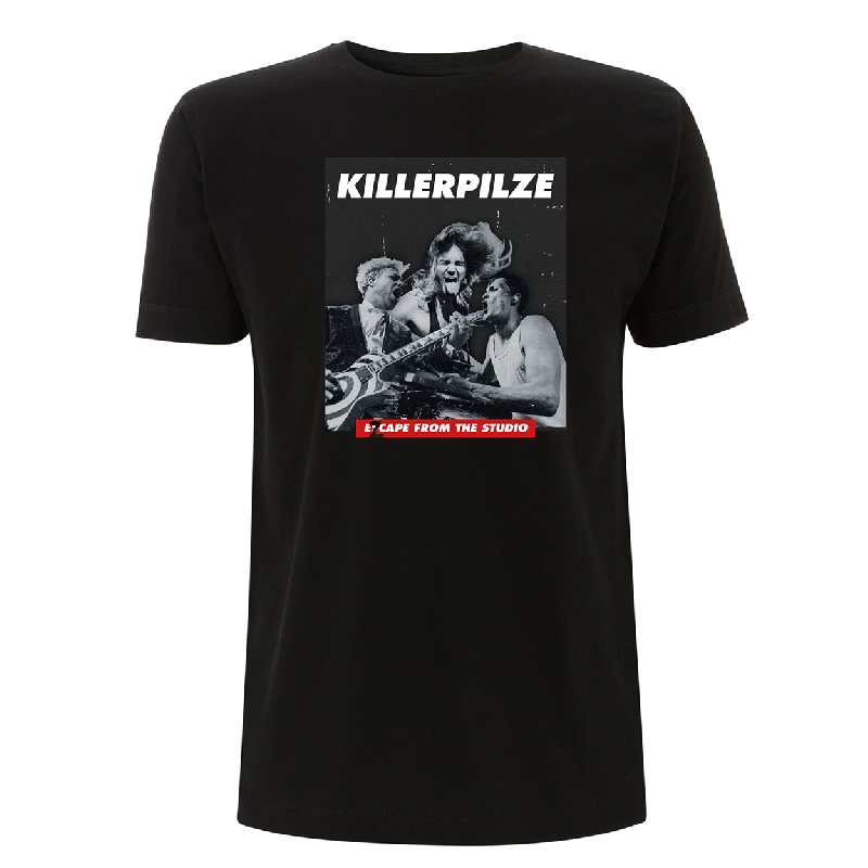 Killerpilze Ezcape T-Shirt, Black