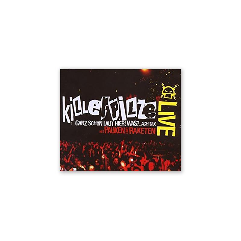 Killerpilze Mit pauken und raketen DVD/Album CD+DVD