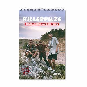 Killerpilze KP Kalender 2019 Calendar
