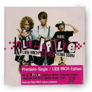 Killerpilze LiebMichHassMich Premium Single CD