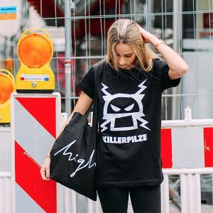 Killerpilze Pilz T-Shirt T-Shirt Schwarz