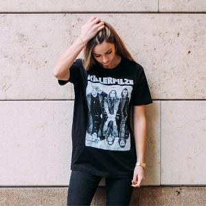 Killerpilze Spiegel T-Shirt T-Shirt Schwarz
