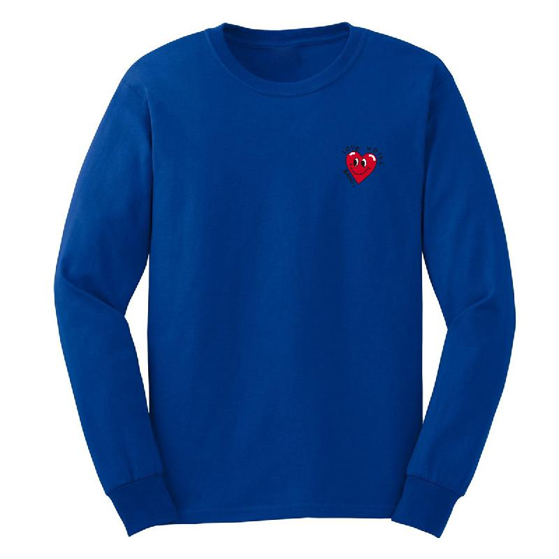 Love Hotel Band Herz Longsleeve Longsleeve Blue