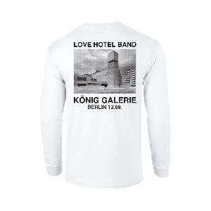 Love Hotel Band König Longsleeve Longsleeve White