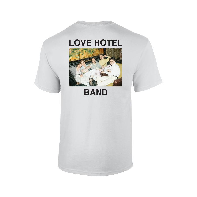 Love Hotel Band Paris T-Shirt T-Shirt White