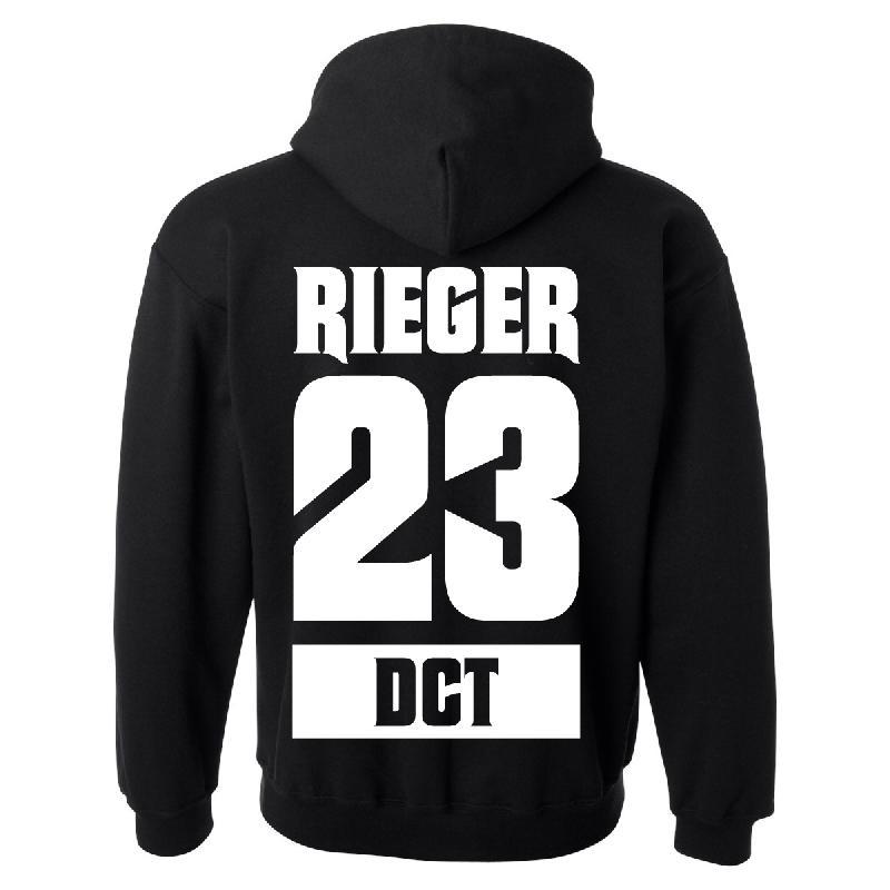 Lukas Rieger 23 Hoody Hoodie Black