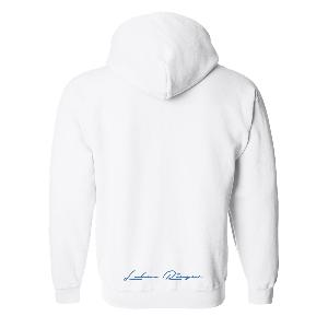Lukas Rieger Bubble Hoodie Weiß