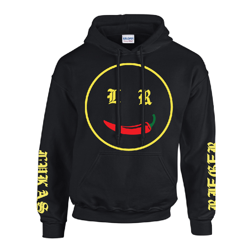 Lukas Rieger Chili Smiley Hoodie, black