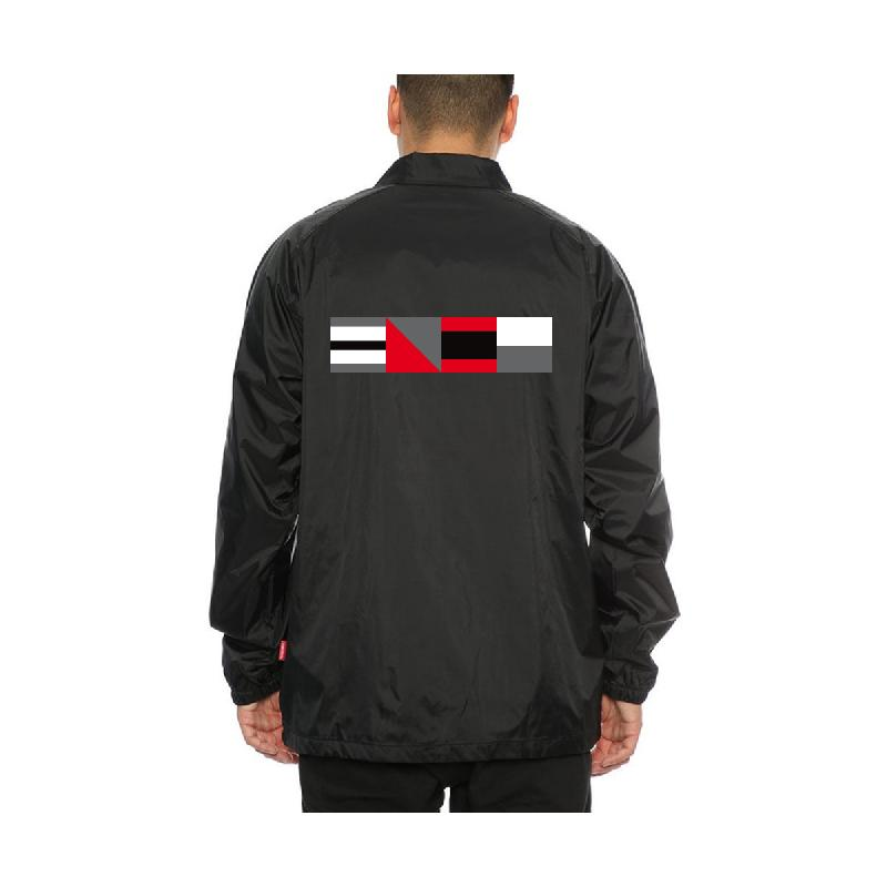 Lukas Rieger Code Jacket Coachjacket, Black