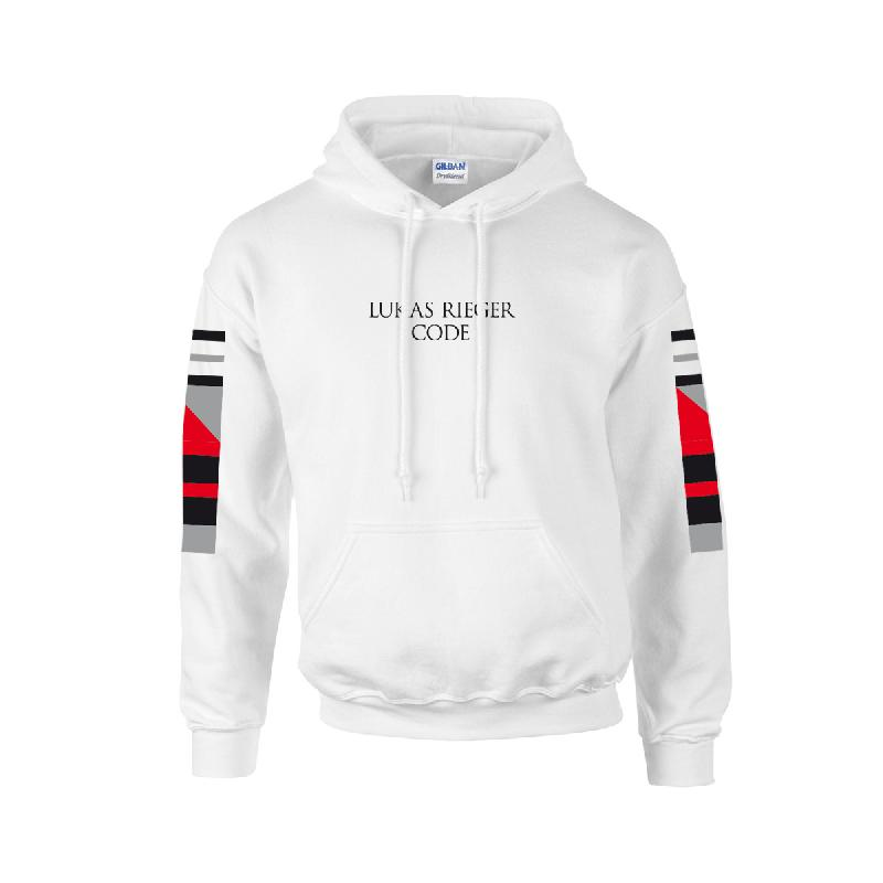 Lukas Rieger Code White Hoodie, White