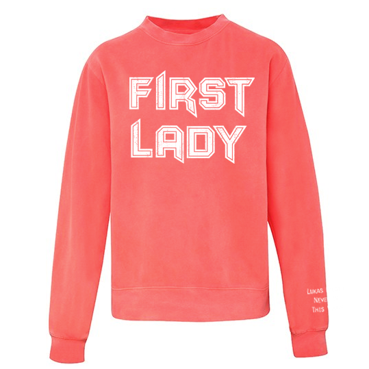Lukas Rieger First Lady Sweater, Melone