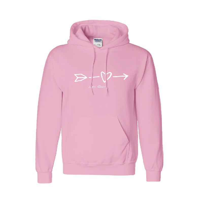 Lukas Rieger Heart Hoodie Hoodie, Pink