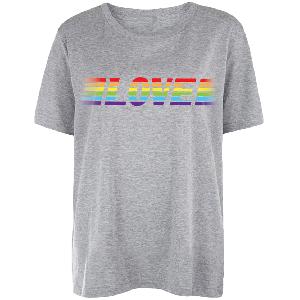Lukas Rieger LR x MUSIK BEWEGT CHARITY SHIRT T-Shirt Grau