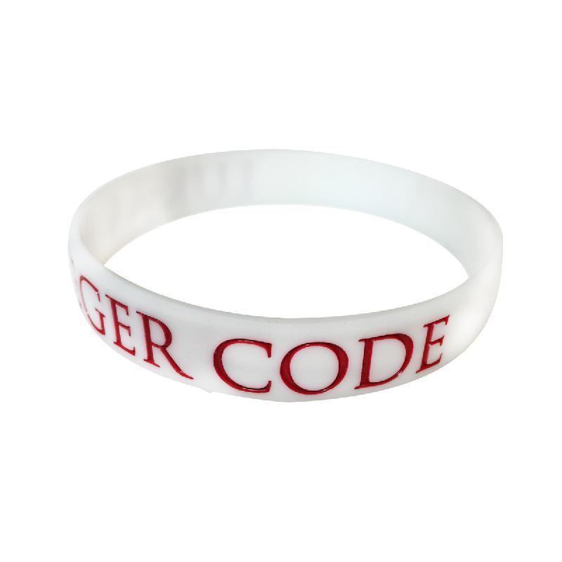 Lukas Rieger Lukas Code Weiss Wristband