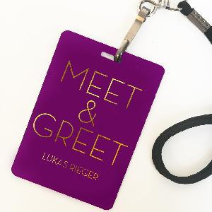 Lukas Rieger MEET & GREET UPGRADE DRESDEN Ticket