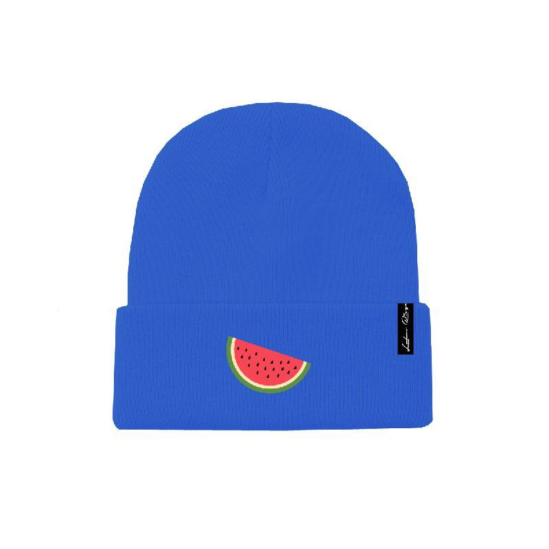 Lukas Rieger Melon Beanie royalblau