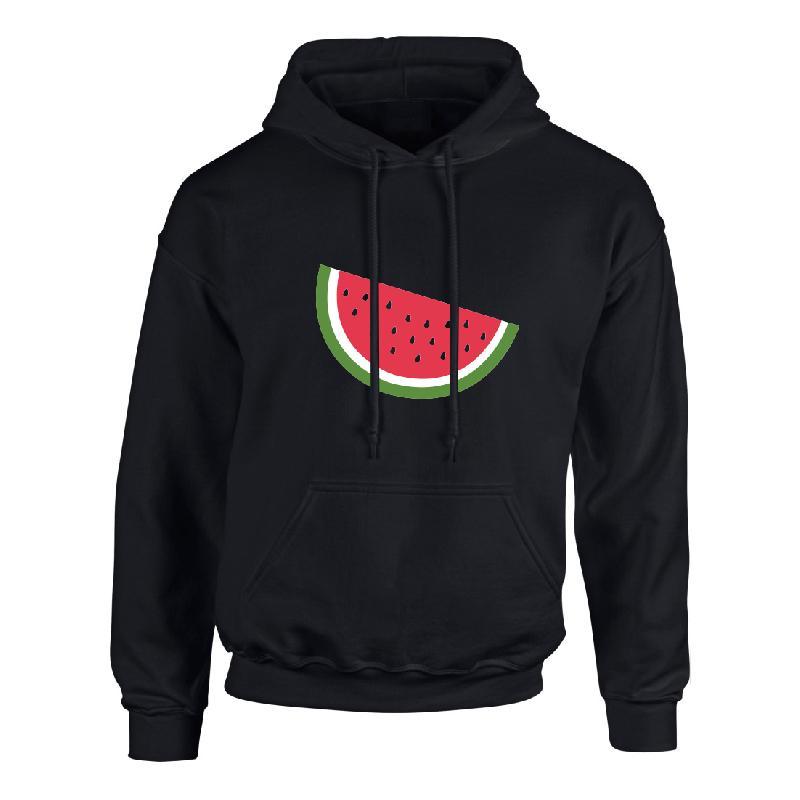 Lukas Rieger Melone neon Hoodie, schwarz