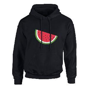 Lukas Rieger Melone neon Hoodie schwarz