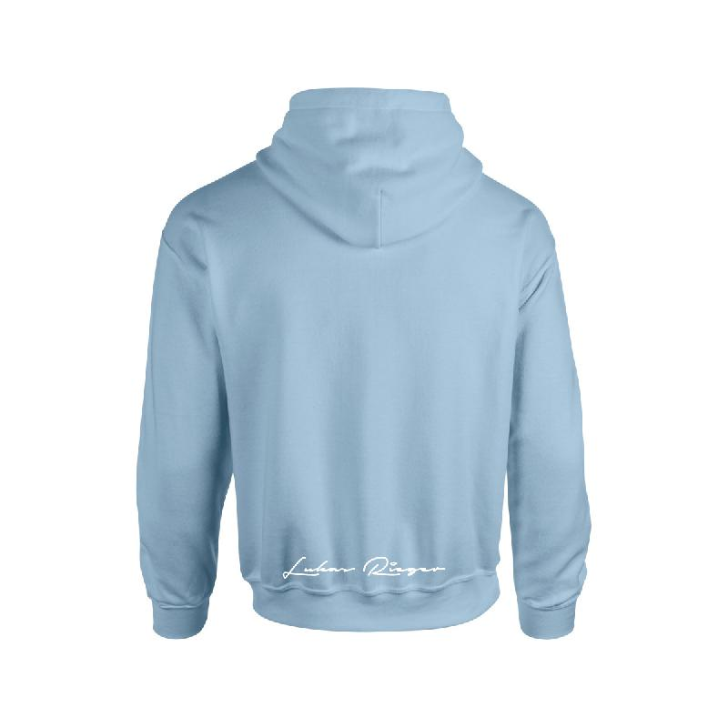 Lukas Rieger Melone Hoodie Skyblue