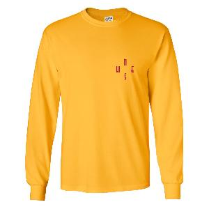 Lukas Rieger Metal Longsleeve Longsleeve Yellow