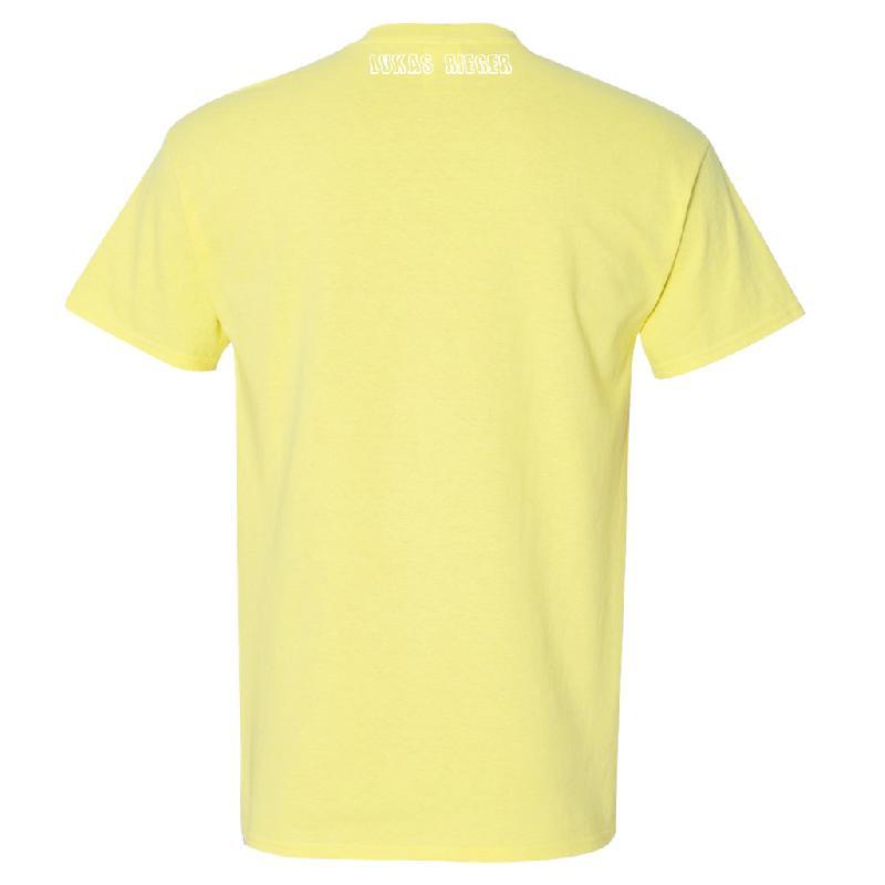 Lukas Rieger MI CASA ES TU CASA T-Shirt Yellow