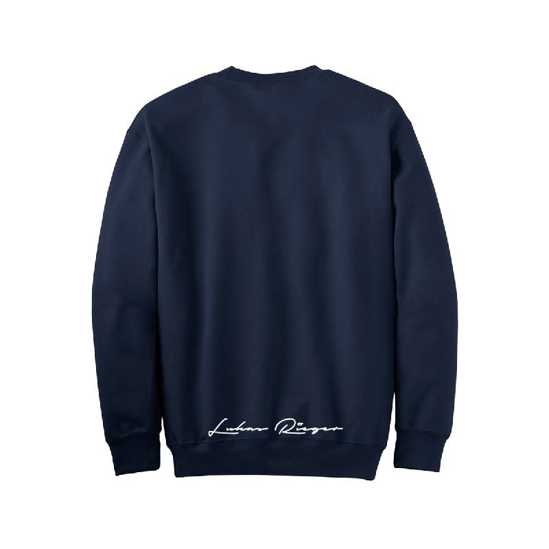 Lukas Rieger No Bananas Sweater navy