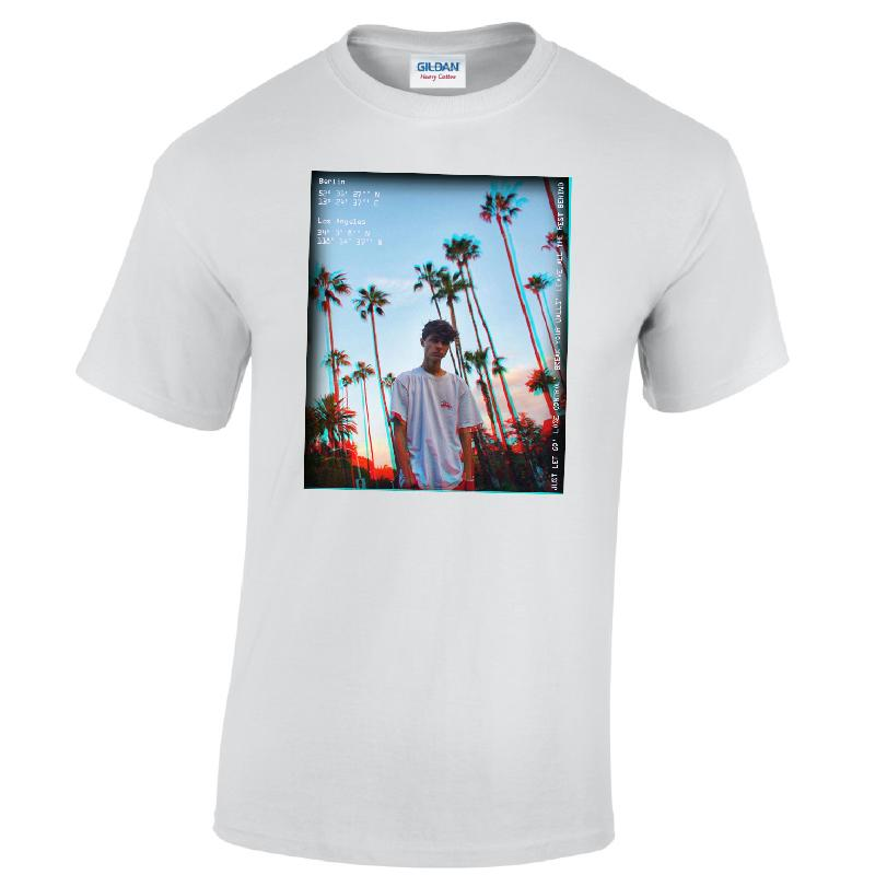 Lukas Rieger Palms T-Shirt, White