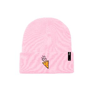 Lukas Rieger Pizza Beanie pink