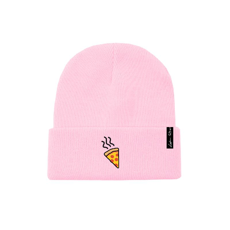 Lukas Rieger Pizza Beanie, pink