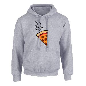 Lukas Rieger Pizza Hoodie grey