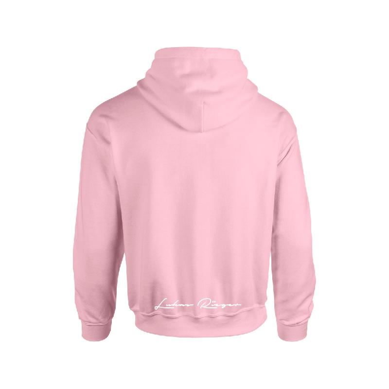 Lukas Rieger Pizza Hoodie pink