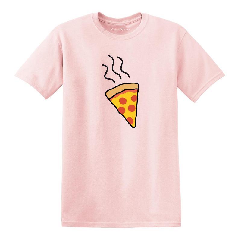 Lukas Rieger Pizza T-Shirt, Rosa