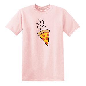 Lukas Rieger Pizza T-Shirt Rosa