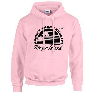 Lukas Rieger RIEGER ISLAND Hoodie light pink