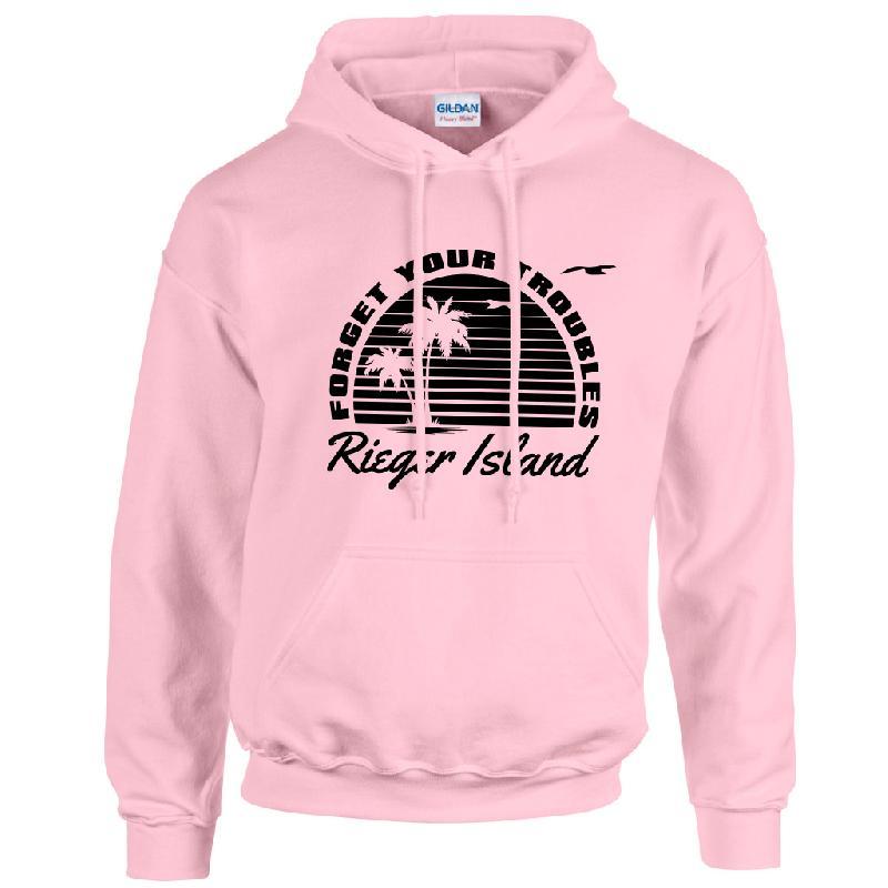 Lukas Rieger RIEGER ISLAND Hoodie, light pink