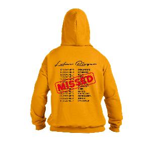 Lukas Rieger Compass Tour 2016 Hoodie yellow