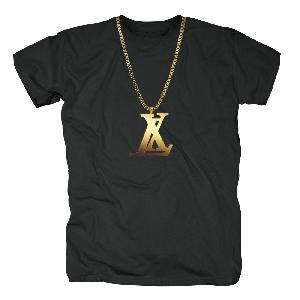 LX Chaine T-Shirt schwarz