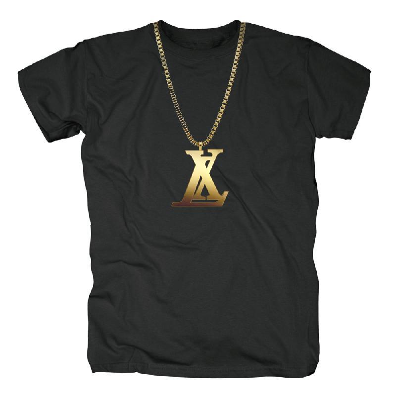 LX Chaine T-Shirt, schwarz